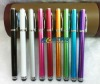 Metal 2-in-1 Stylus Ballpoint Pens For iPhone Stylus touch Pen