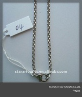 YN04 pupular stainless steel necklace for pendants
