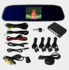 HD camara reverse parking sensor,back mirror, car distance sensor,parking system/ LCD display parking sensor