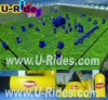 44pcs inflatable bunkers millennium field