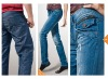 brand new style tight fashion lady's and gentleman's denim jeans