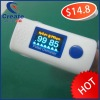 2012 new hot Finger Pulse Oximeter, Color cheap pulse oximeter for sale