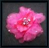 Wholesale silk flower,chiffon flowers for hair