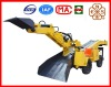 China's first design!! Wheel integrated Excavator and Backhoe loader