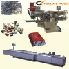 Complex folding & brushing packaging machine