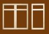 wooden cabinet front frames