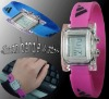 silicon bangle watch