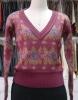style 3020 wool jacquard sweater