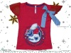 children t-shirts-girls' round neck t-shirts