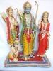 india god Krishna and Radha statue,hindu god statues