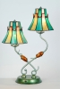 NEW tiffany style table lamp -HM0702768x2/A1211KD774