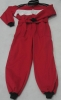 Cotton racing coverall
