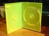 14mm yellow DVD case(DVD sleeve,DVD box ,pp case,packaging case)