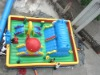 Fun City, Inflatable Fun City, Inflatable Castle, Amusement Park, Inflatable Playground, Inflatable Toy, Inflatable Game