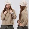 dust coat/lady's fashion dust coat/women's casual wind coat