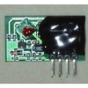 Low voltage and low power super-regenerative receiver board/receiver module
