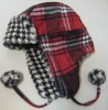 IC82TG1231(Knitted Hat,fashion hat,cap with ear flaps,winter hat)