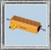 RX600 type aluminum shell underpan installation wire wound resistor