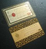 Metal card , gold card,metal business card
