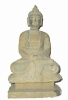 antique stone buddha ( antique replica , pottery warriors )