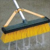 Water-Flow Outdoor Broom