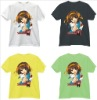 Suzumiya T shirt cotton short sleeve