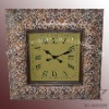 Antique wooden wall decor clock