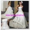 Fashion Ivory Embroidery wedding dresses W107