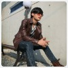 Jacket of Fashion mens Super Comfortable PU  Leather  F87