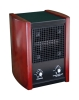 Ionic air purifier with HEPA filter