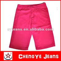 Chengye jeans harem denim mens pink pants (CY0005)
