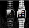 TW810 wrist mobile phone with Stainless steel,1.6inch LCM watch mobile phone