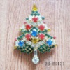 The promotional gift for chrismas tree brooch