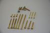 DIN97 Brass slot CSK head wood screws