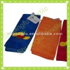 100% cotton velour embroidered towel embroidery towel factory supplier