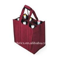 Non Woven PP 6 bottle Wine bag