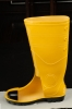 pvc safety boot with steel toecap