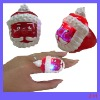 X'mas santa finger ring