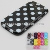 cute case for samsung galaxy with polk-dot design (Paypal acceptable)
