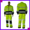 Long Sleeves Labour Protection Clothing Reflective Boiler Suit