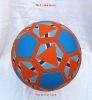 rubber football/soccer ball ,size :5