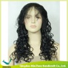 Cheap 2013 Curl Remy Indian Hair Full Lace Wig with Baby Hair