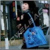 lightweight and cute polyester folding shopping bags, fold up carry bag