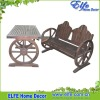 wooden garden furniture