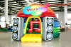 inflatable bouncer/inflatable air bounce of music show