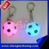 flashing football keychain