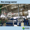 Recycling waste oil to oil pyrolysis equipment