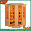 2013 Luxury Canadian Red Cedar Corner CE GS ETL Rohs SAA CTICK ISO9001 Far Infrared Sauna,infrared sauna cabin,infrared sauna
