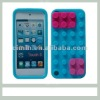 New Design Mixed Color Building Block Silicone Case For Apple Ipod Touch 5
