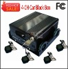 4-CH Car Black Box with 3G for Vehicles, GPS Tracking Car Black Box